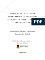 Internationalism Classroom Strategies