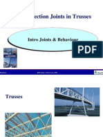 Hollow Section Joints in Trusses