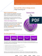 Organisational Culture and the Culture Change Process