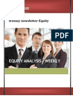 Weekly Equity tips and newsletter 18 Feb 2013