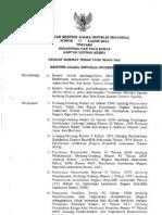 PMA No. 39 Tahun 2012 Tentang Organisasi Dan Tata Kerja KUA