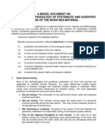 Riverbed Mining Guidelines