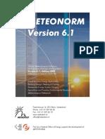 Metonorm Manual