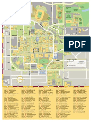 asu map tempe campus Asu Tempe Map Arizona State University Sports asu map tempe campus