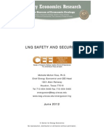 LNG Safety and Security Update 2012