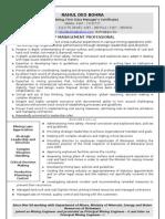 Mining Resume