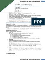 Unit-2 Dynamic HTML
