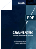 Chem Trails Rastros Mortales en El Cielo La Verdadera Causa de Las Epidemias