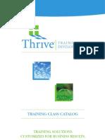 Thrive Training CC1