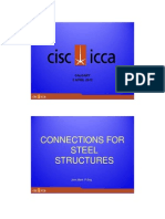 Connections for Steel Structures by John Mark (CISC - ICCA)