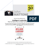 John Mattone's Presentations on Leadership