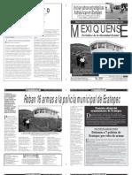 Versión impresa del periódico El mexiquense 18 febrero 2013