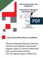 Adastra Framework for Managing Information Quality Bratislava Oct 21 2008