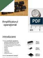 Amplificatorul operaţional