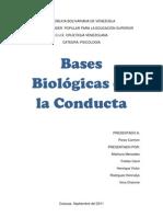 Bases Biológicas de la Conducta trabajo