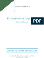 Compromís de Casp 1412. Diari del procès Gimeno Blay segons els nous documents trobats recentment a la Universitat de València