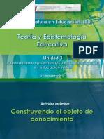ACTIVIDAD epistemologia