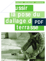 La Pose Du Dallage de Terrase