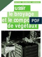 Le broyage et le compost des végétaux