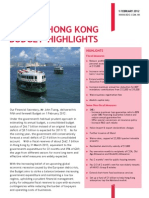 BDO HK Budget Highlights 2012