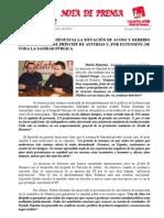 IU denuncia el acoso y derribo que sufre el Hopital PRÍNCIPE DE ASTURIAS