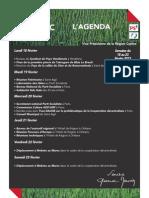 Agenda 2013 Semaine 8