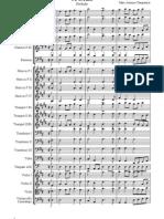 Te Deum Score