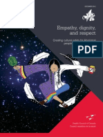 (REPORT) Empathy, Dignity, and Respect - Creating Cultural Safety for Aboriginal People in Urban Health Care