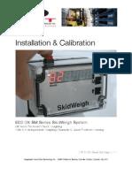 ED2-2X-SM SkidWeigh Installation & Calibration V101