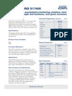 17-4 Ph Bar Data Sheet