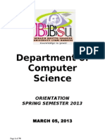 BS Computer Science & BS (IT)