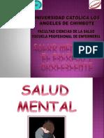 Salud Mental- Adolescente