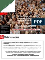Observatoire de l'opinion - La confiance accordée à François Hollande pour relancer la croissance.ppt