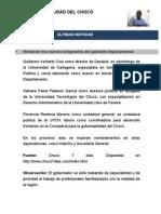 Actualidad del Chocó No. 1
