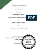 31873507 Night Vision Technology a Seminar Report