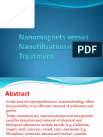 Nanomagnets Versus Nanofiltration in Water Treatement - VSK