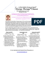 Integrated Energy Therapy Classes