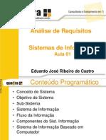 Aula 01 - Sistemas de Informacao