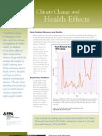 Climate Change Health