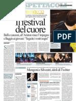 La Repubblica - Sanremo 2013 Mengoni e Silvestri idoli di Twitter