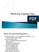 Working Capital Gap