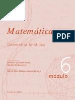 Matemática - Módulo 6 - Geometria Analítica