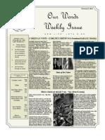 Newsletter Volume 5 Issue 07