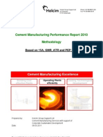 Cement Manufacturing Performance Report of GC 2007