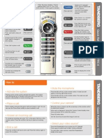 TANDBERG TRC-4 Remote Control User Guide