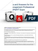PMP Exam Q&A