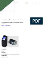 » sm630 finger print module specification _ Numitech Solutions