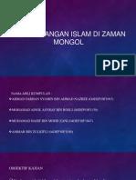 Perkembangan Islam Di Zaman Mongol