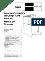 Manual de Maquina Prensadora