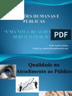 Qualidade atendimento ao público